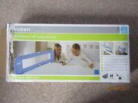 Lindam soft folding bed rail, blue