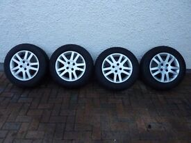 """15"""" Winter Tyres and wheels for sale"""