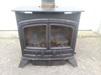 Aarrow Stand Alone Coal Effect Gas Fire Similar to Wood Burner Stove etc