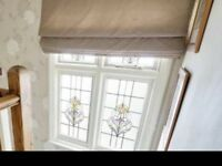 Laura Ashley Truffle Roman Blind