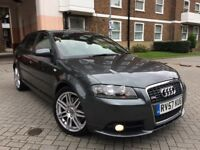 AUDI A3 2.0T S LINE 2008 FULL SERVIS HISTORY HPI CLEAR PX WELCOME