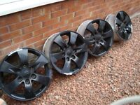 """Mitsubishi L200 17"""" Alloy Wheels and Nuts £60 for sale  Dunbar, East Lothian"""