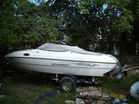 2007 stingray 200cs  low hours