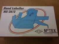 motex hand labeller mx-2612