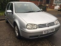 2002 VW Golf GT TDI 140 Manual - Priced for quick sale.