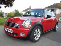 2008 Mini One 1.4 Petrol FSH 12 month MOT A/C