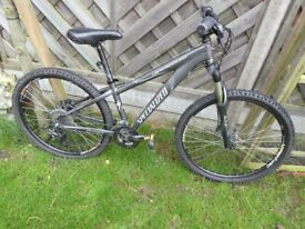 Specialized/ Specialised Graphite Grey XS HardRock Sport Mountain Bike - Great Bike Good Condition