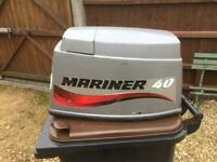 Mariner 40 outboard cowl