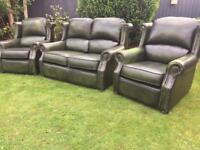 Thomas Lloyd vintage style wingback Chesterfield sofa suite can deliver