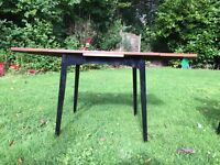 G Plan table with 4 butterfly chairs