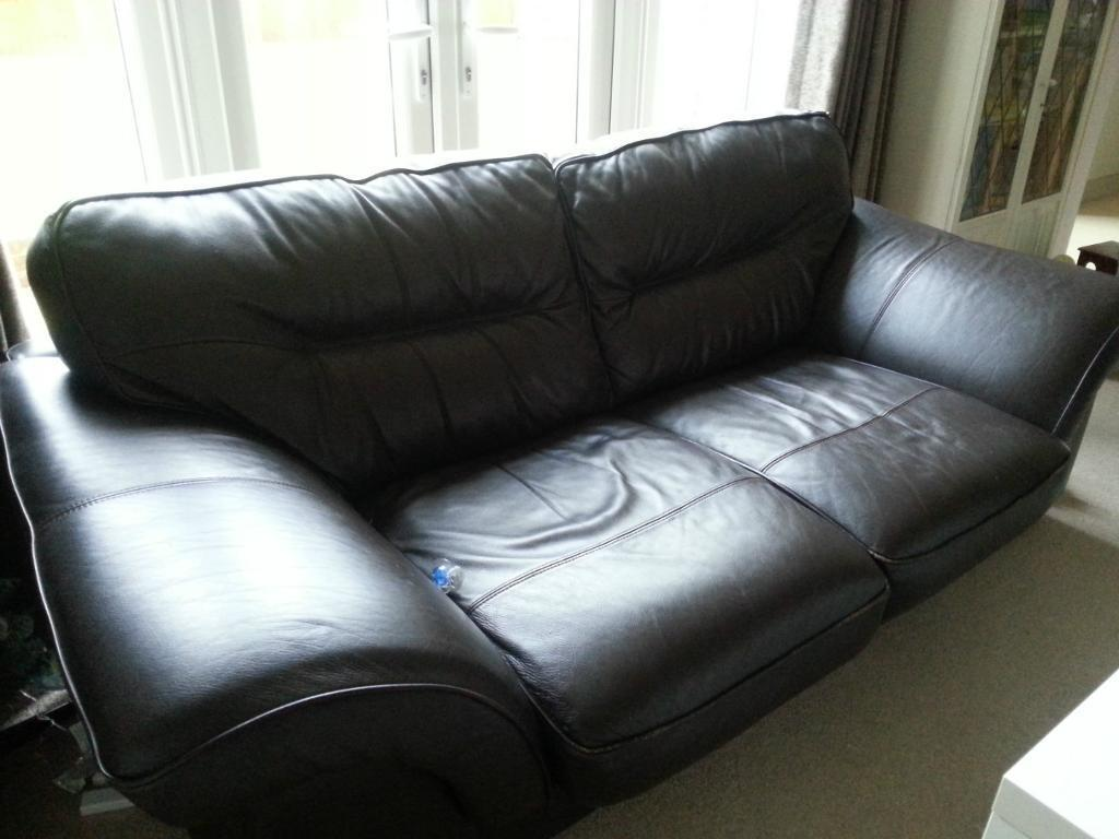 Dfs 3 Seater Sofa Leather And Purchase Sale And Exchange Ads