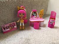 Shopkins Lippy Lulu Beauty Boutique Playset- REDUCED!