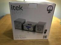 itek CD micro Hi Fi system