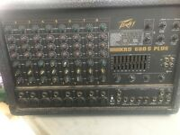 Peavey XRD 680 mixer amplifier