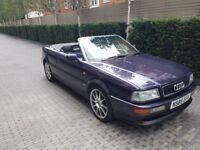 Audi 80 Convertable 2.6 V6 Auto 1995