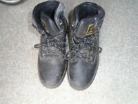 ladies steel toe cap boots size 6