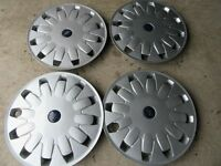 "-- FORD GENUINE 16"" WHEEL TRIMS X 4 AS NEW --"