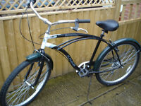 custom cruiser adult size nice bike 6 speed