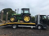 VEHICLE, TRACTOR, FORKLIFT, MINI DIGGER, 4X4 RECOVERY , TRANSPORT, MOVING / COLLECTION OR DELIVERY