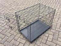 Dog Crate - medium sized dog.
