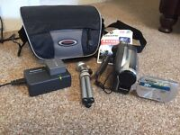 Panasonic video camera and accessories