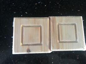 Box of Wood door blocks