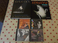 Frank Sinatra Four CDs (Capitol Records) + Two Sinatra Books