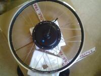 Electric mountain bike rear wheel brand new