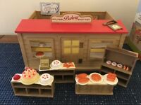 SYLVANIAN FAMILY - BAKERY - VINTAGE- 1988-1992 EXCELLENT CONDITION