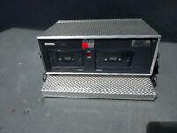 Retro Double Deck Cassette Recorder