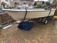 14ft open fishing boat