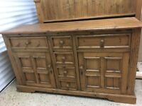 Large Solid Pine Welsh Dresser