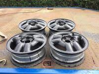 """14"""" corsa b gsi alloy wheels no tyres no centre caps"""