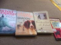 Books: Michael Morpurgo, Bookseller of Kabul, Horrible Histories