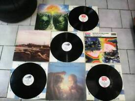 MOODY BLUES ALBUMS 7 IN TOTAL