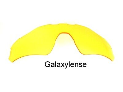 Used, Galaxy Replacement Lens For Oakley Radar EV Path Yellow Night Vision Sunglasses for sale  Shipping to India