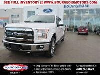 2015 Ford F-150 LARIAT 4X4 CREW LEATHER REMOTE START NEW 502A