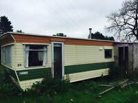 Two static caravans buy one get one free! must be collected open to offers