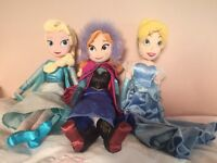 Official Disney Store Soft Toy Dolls