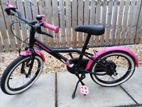 B twin 16inch girls bike 4-6 years