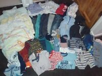 Huge boys 12-18 months clothes bundle, includes sleepbags and jackets