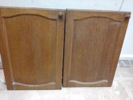 For Sale 5 Wooden Kitchen Doors