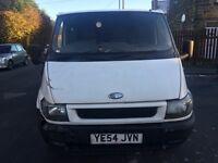 Ford transit van 2004 54 2.0 diesel 125 bhp spares or repairs needs mot runs full v5 £399