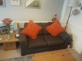 2 Seater Sofa - Charcoal Grey