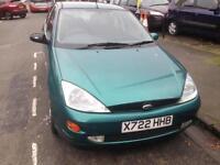 Ford Focus 1.6 manual, long MOT good drive £295