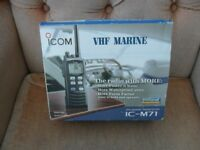 ICOM IC-M71 VHF MARINE TRANSCEIVER
