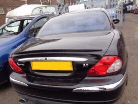 BREAKING ---- Jaguar X-TYPE V6 SE AUTO 3L Petrol 231BHP ----- 2002