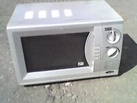 Silver Microwave