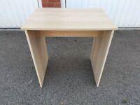 IKEA Single Oak Veneer Desk FREE DELIVERY 8831