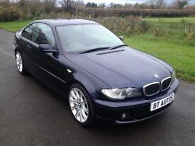 2003 Facelift BMW 318i SE Coupe 6mth warranty 1yrs Mot